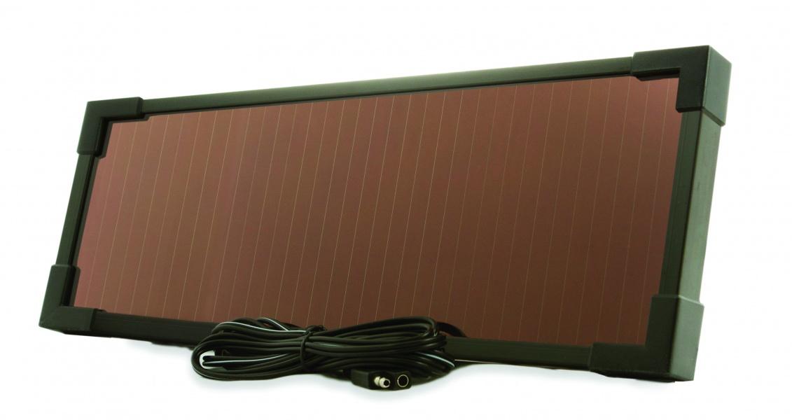 9 Watt Amorphous Solar Panel Charger Maintainer