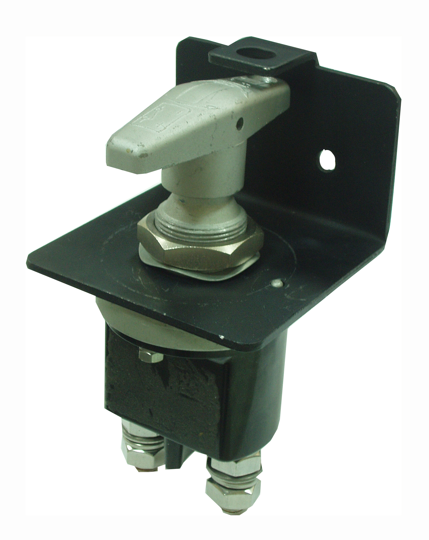 WirthCo 20247 Battery Doctor Fixed Handle Isolator Disconnect Switch with Lock-Out Plate