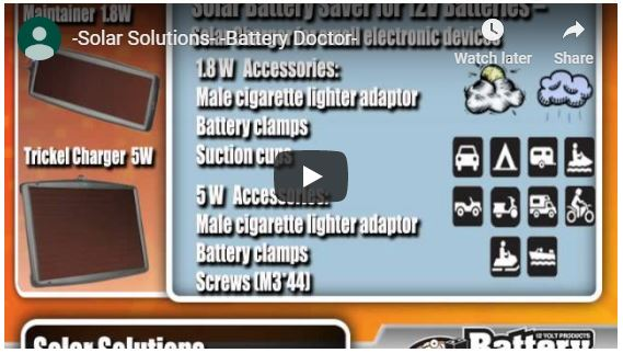 Battery Isolator Series Video