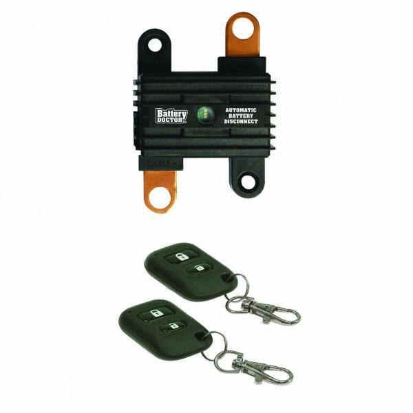 Automatic Battery Disconnect Switch With 2 Key Fobs. Automatic Battery Disconnect Switch. Wiring. Battery Doctor Disconnect Wiring Diagram At Scoala.co
